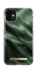 [NZ] iDeal Of Sweden - etui ochronne do iPhone 11 (Emerald Satin)