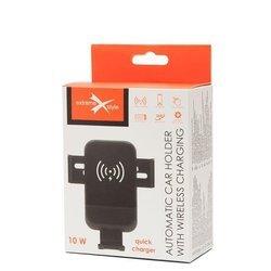 Automatyczny uchwyt samochodowy eXtreme® na telefon z ładowaniem bezprzewodowym - SIR2