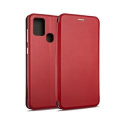 Etui Beline Book Magnetic Samsung A12 czerwony