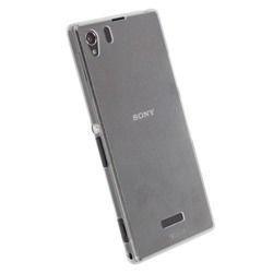 Etui Krusell FrostCover do Sony Xperia Z1 - białe przeźroczyste