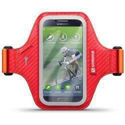 Etui sportowe Shocksock Eziflex do Samsung Galaxy S4 czerwony