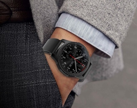 Bransoleta Tech-Protect Milaneseband Black Samsung Watch 46 MM - czarny