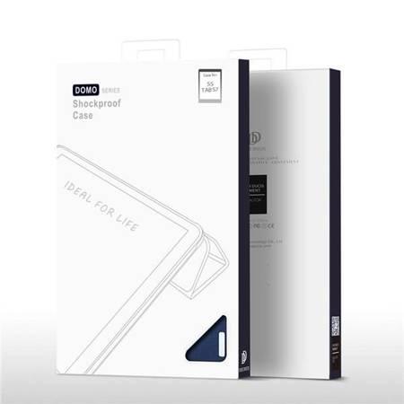 ETUI DUXDUCIS DOMO GALAXY TAB S7+ PLUS 12.4 T970/T976 BLACK