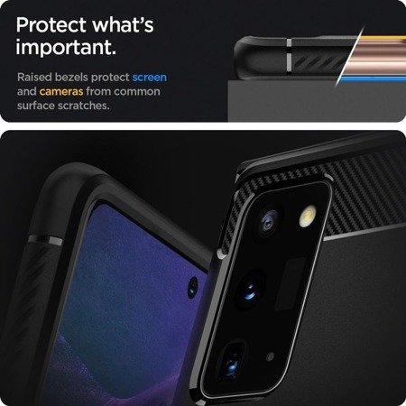 ETUI SPIGEN RUGGED ARMOR GALAXY NOTE 20 MATTE BLACK