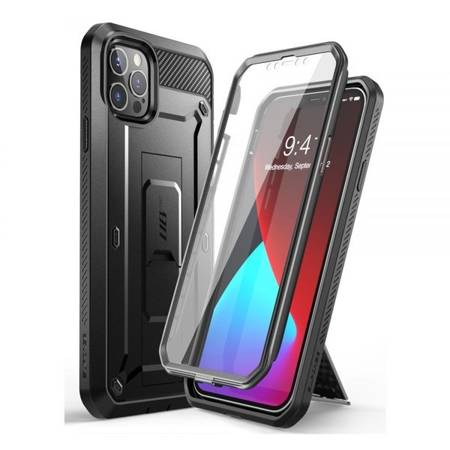 ETUI SUPCASE UNICORN BEETLE PRO DO IPHONE 12 PRO MAX BLACK