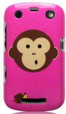 Etui Call Candy do Blackberry 9360 Curve Małpka - żelowe