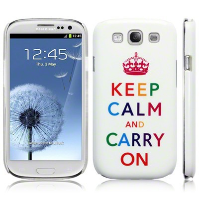 Etui Call Candy do Samsung i9300 Galaxy S3 - Keep Calm