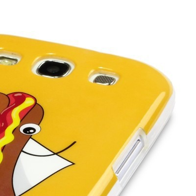 Etui Call Candy do Samsung i9300 Galaxy S3 żelowe - hot dog