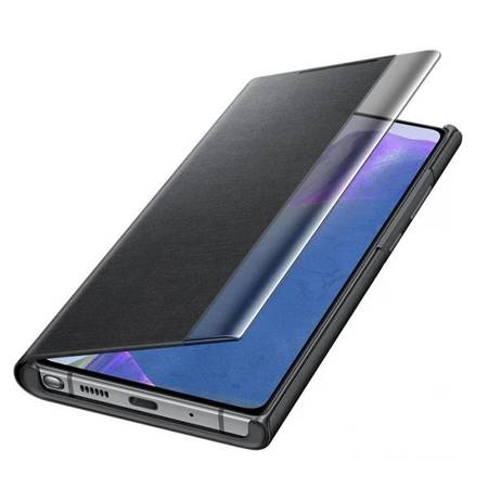 Etui Do Samsung Note 20, Czarny, Clear View Cover