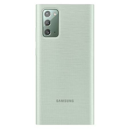 Etui Do Samsung Note 20, Miętowy, LED View Cover