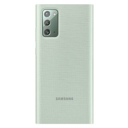 Etui Do Samsung Note 20, miętowy, Clear View Cover