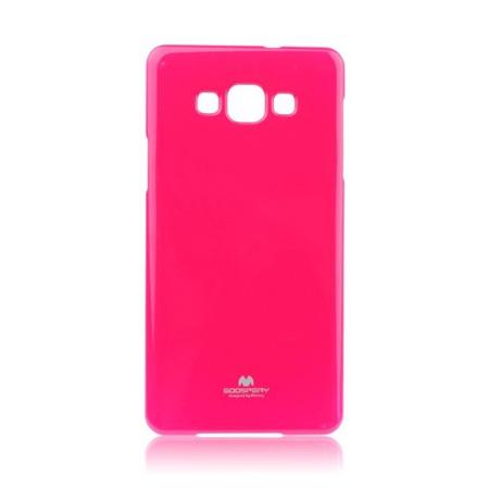 Etui Goospery Jelly Mercury do Samsung Galaxy A7 gumowe - różowe