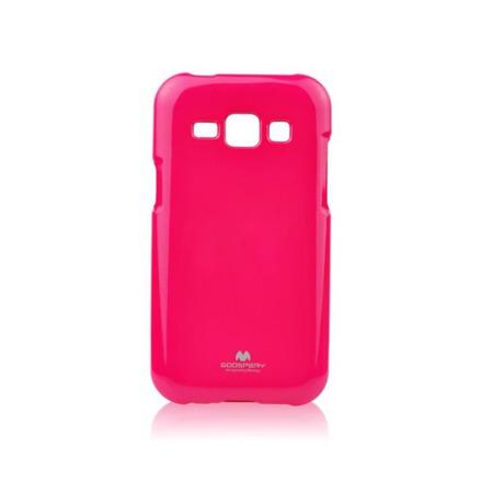 Etui Goospery Jelly Mercury do Samsung Galaxy J1 - różowy