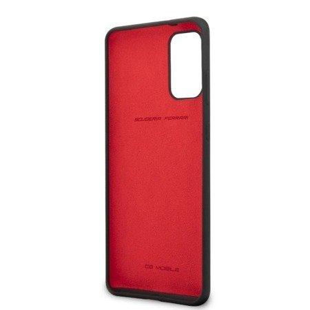 Etui Hardcase Ferrari Do Samsung S20 Plus, Czarny, Silicone