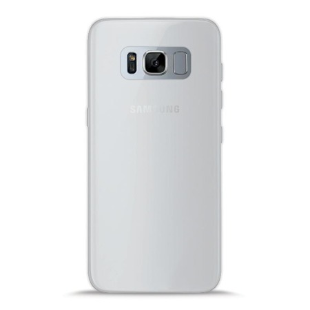 Etui PURO Slim 0.3mm do Samsung Galaxy S8 Plus półprzezroczyste mleczne