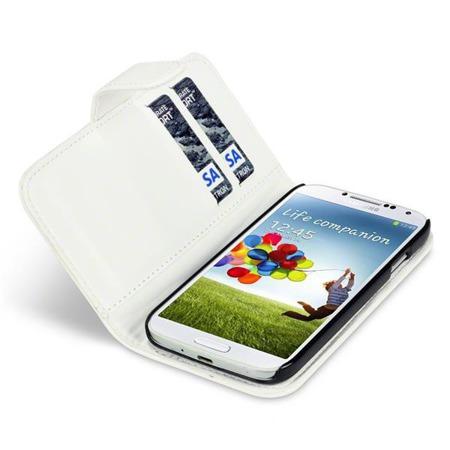 Etui Qubits Samsung i9500 Galaxy S4  biały