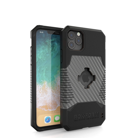 Etui RokForm Rugged Gunmetal do Apple iPhone 11 Pro Max - szare