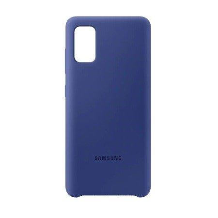 Etui Samsung EF-PA415TL A41 A415 niebieski/blue Silicone Cover