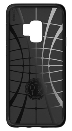 Etui Spigen SGP LIQUID Air Samsung Galaxy S9 czarne matowe