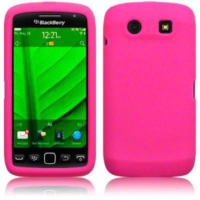 Etui Terrapin BlackBerry 9850 / 9860 Torch silikonowe - różowy