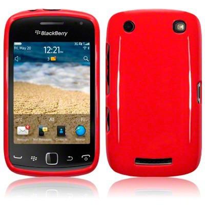 Etui Terrapin do Blackberry 9380 Curve żelowe - czerwony