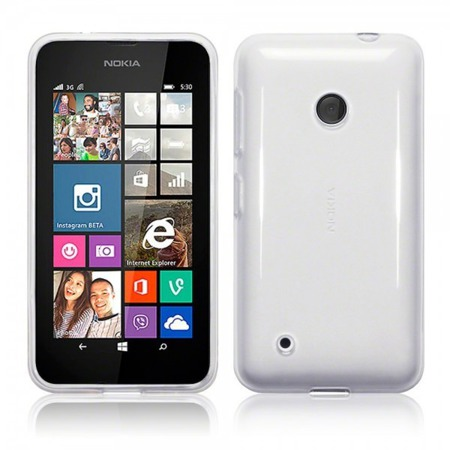 Etui Terrapin do Nokia Lumia 530 żelowe czysto - przeźroczysty