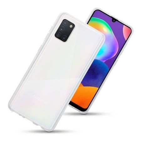 Etui Terrapin do Samsung Galaxy A31 żelowe w kolorze przeźroczyste