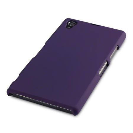 Etui Terrapin do Sony Xperia Z1 hybrydowe - fioletowy