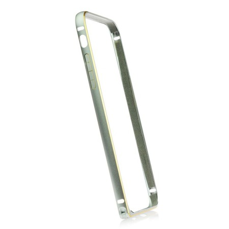 Etui bumper Comma do Apple iPhone 6 Plus srebrny