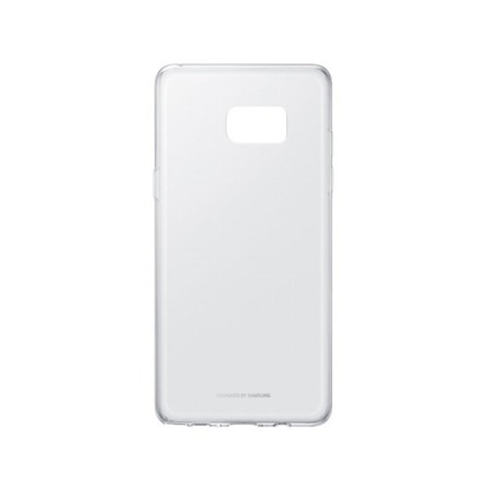 Etui oryginalne Samsung Galaxy Note FE / Note 7 Clear Cover przeźroczyste silikonowe