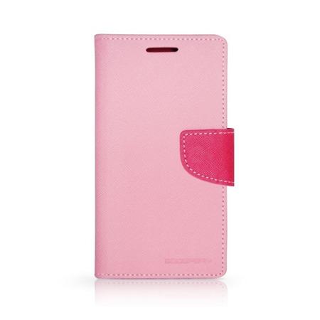Etui portfel Goospery do Samsung Galaxy A7 różowy ze standem