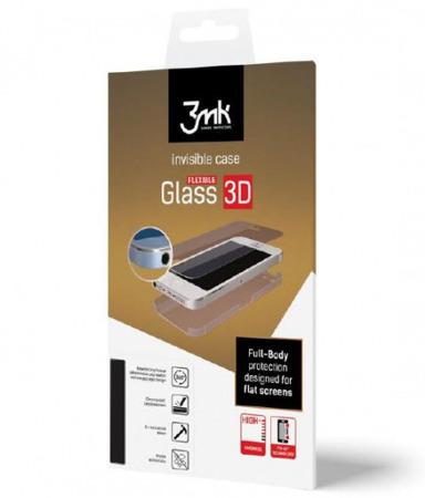Hybrydowe szkło 3MK Flexible Glass 3D Matte-Coat do Huawei P9 Lite  - 1 szt. na przód i 1 szt. matowa na tył