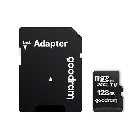 Karta pamięci Goodram Microcard 128 GB karta pamięci micro SD HC UHS-I class 10, adapter SD