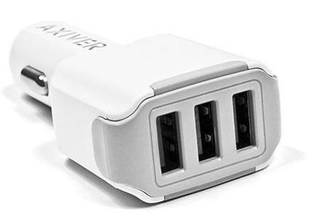 Ładowarka samochodowa AXIVER® 3 x USB 4.4A