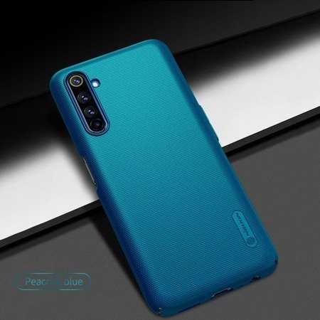 NILLKIN SUPER FROSTED SHIELD - ETUI REALME 6 PRO (PEACOCK BLUE)