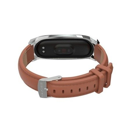 PASEK TECH-PROTECT HERMS XIAOMI MI BAND 5 BROWN
