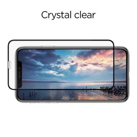 SZKŁO HARTOWANE SPIGEN GLASS FC 2-PACK IPHONE 11 PRO BLACK