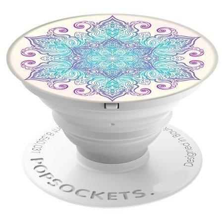Uchwyt do selfie na telefon PopSockets - Flower Mandala