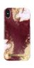 [NZ] iDeal Of Sweden - etui ochronne do iPhone Xs Max (Golden Burgundy Marble)